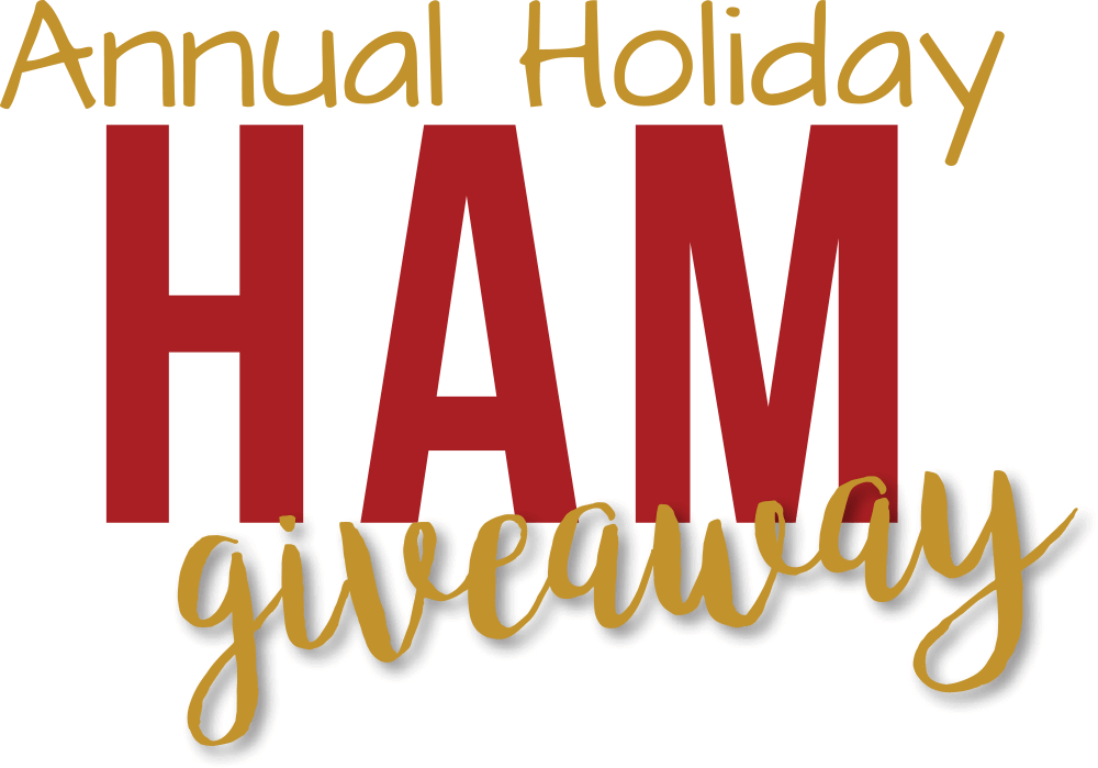Annual Holiday Ham Giveaway